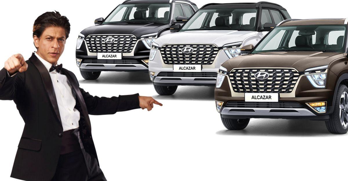 Hyundai Alcazar 6/7 seat SUV: Variants explained