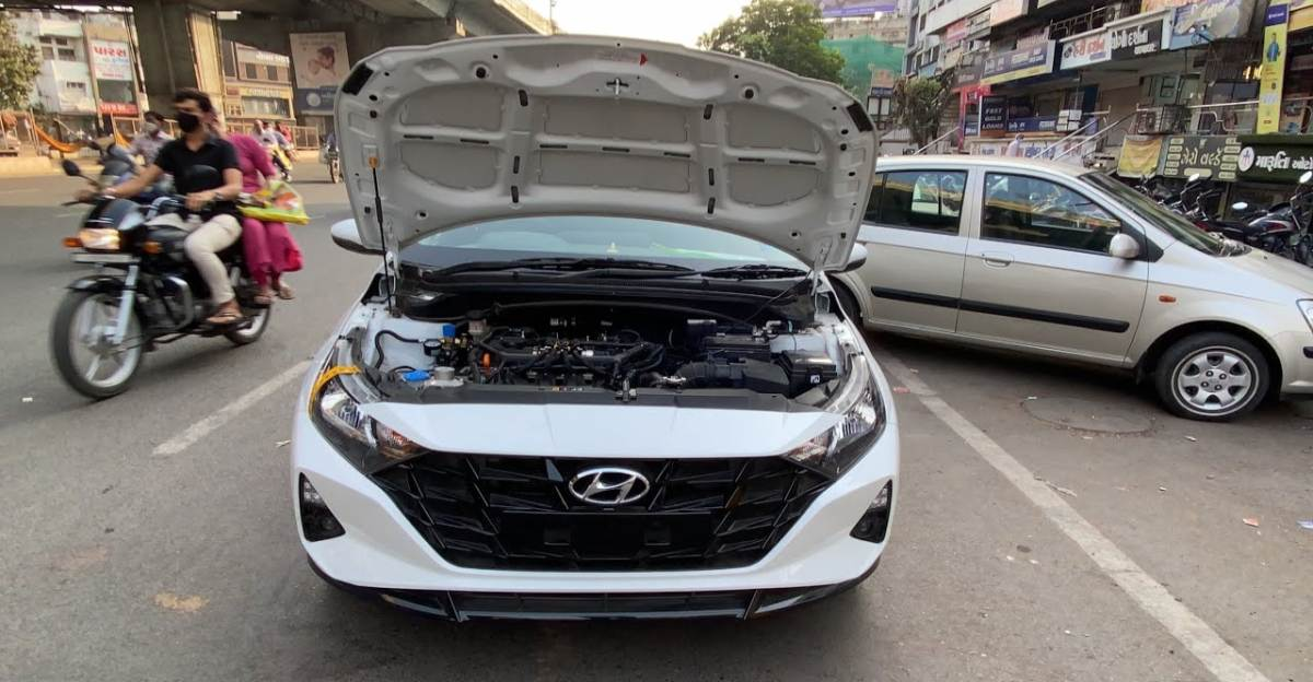 All-new Hyundai i20 hatchback fitted with aftermarket CNG kit