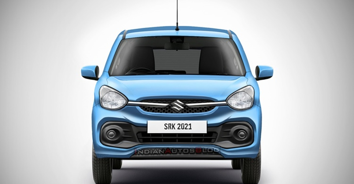 2021 Maruti Suzuki Celerio front and rear rendered ahead of launch