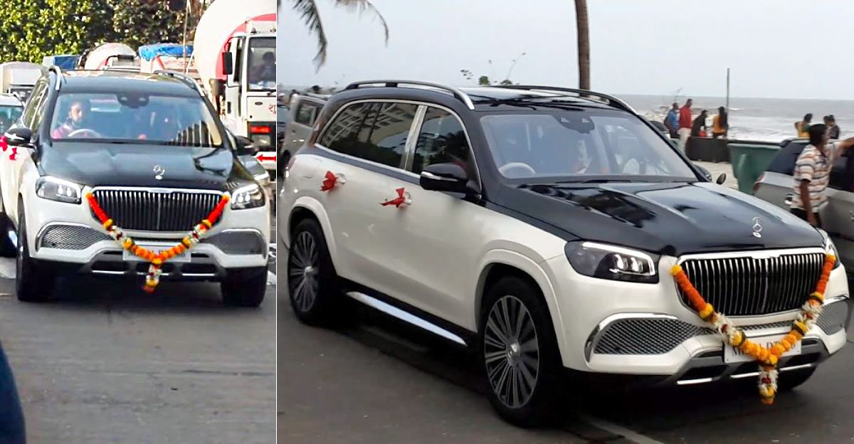 Billionaire Amit Singh spotted in brand-new Mercedes-Maybach GLS650 [Video]