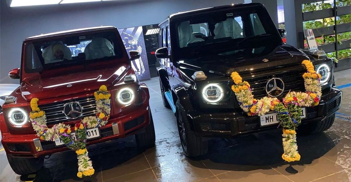 Family buys 2 Mercedes-Benz G-Class SUVs: Takes delivery on the same day