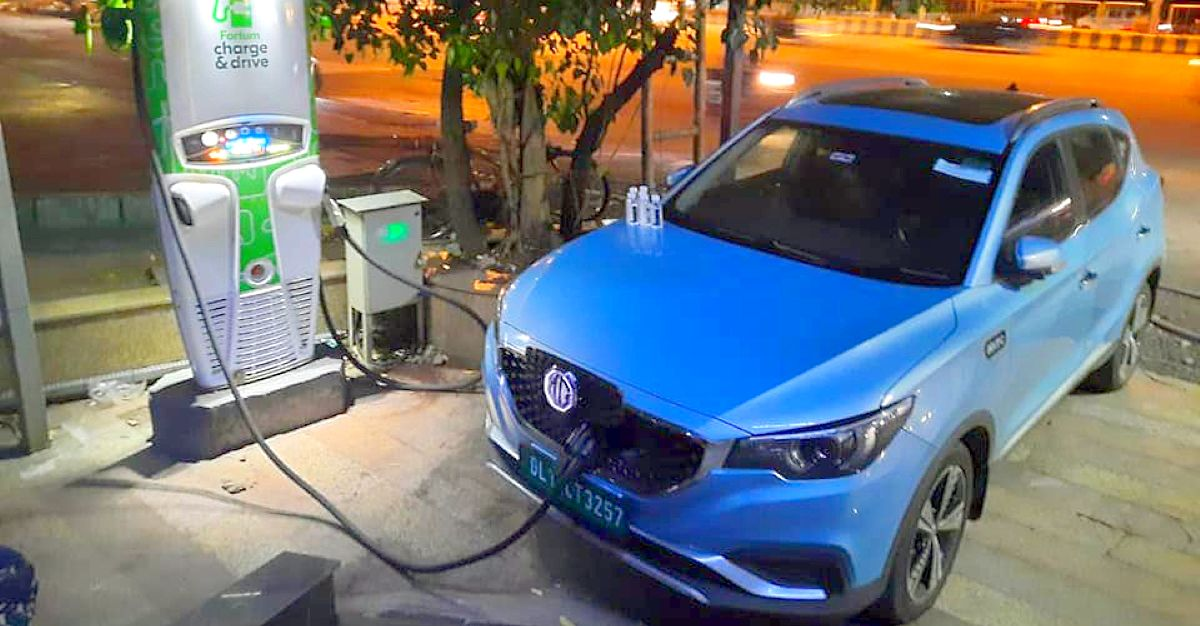 MG ZS Electric car owner drives from Delhi to Pune: This is how he did it