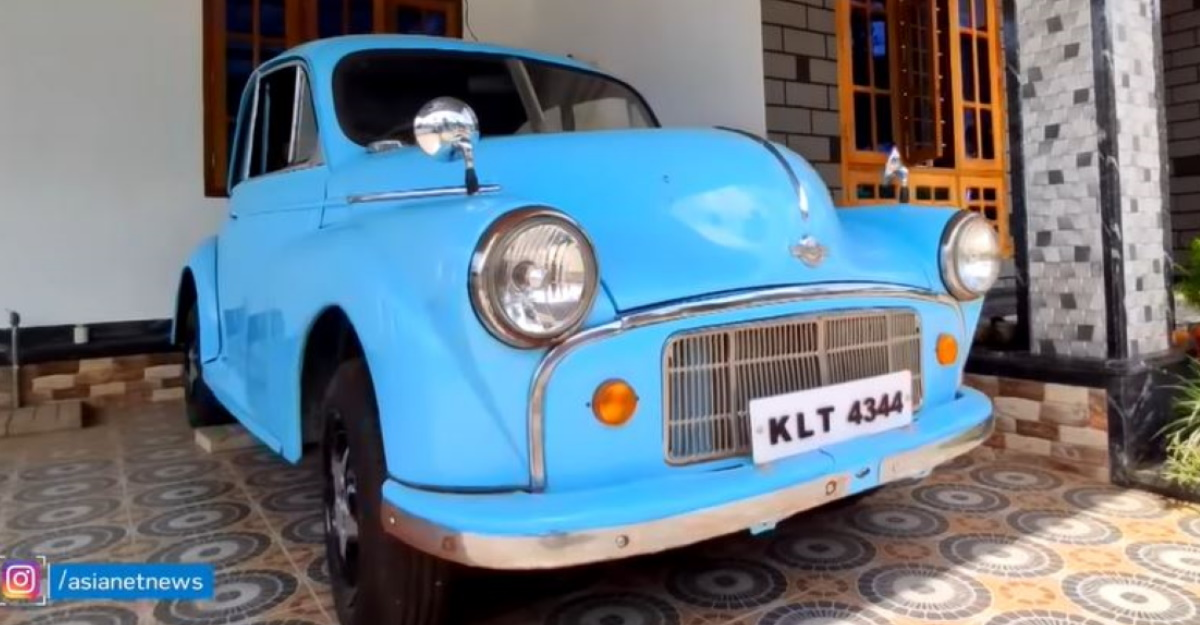 Watch 73 year-old Morris Minor car – a car that was once sold in India – on video