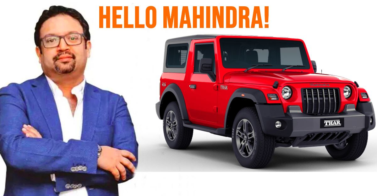 It's official, Pratap Bose has joined Mahindra Group as Chief Design Officer