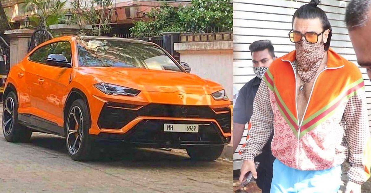 Watch Ranveer Singh take a spin in his brand new Lamborghini Urus SUV