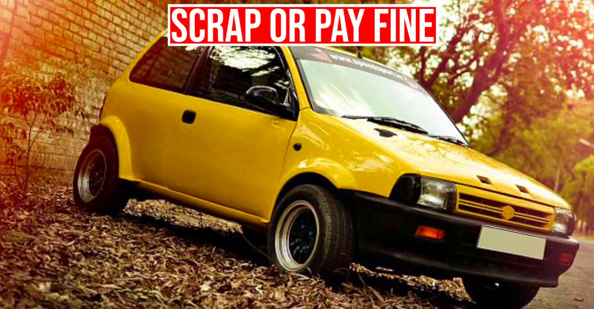 Scrap 10/15 year-old cars or pay Rs 10,000 fine: Transport Department