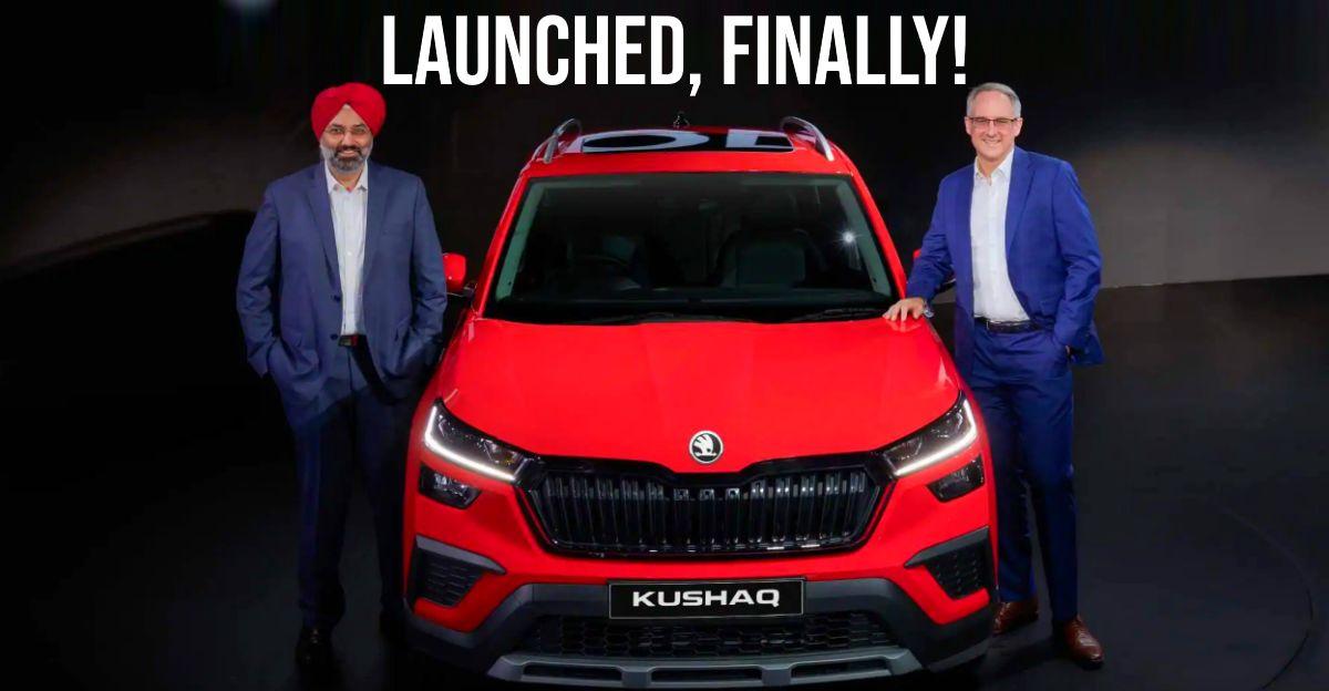 Skoda Kushaq compact SUV launched in India: Pricier than Hyundai Creta & Kia Seltos