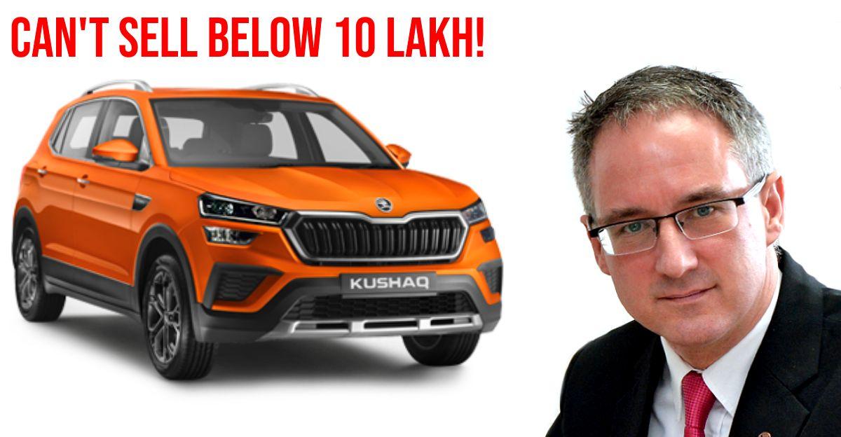 Skoda's Zac Hollis explains why the Kushaq is costlier than Hyundai Creta & Kia Seltos