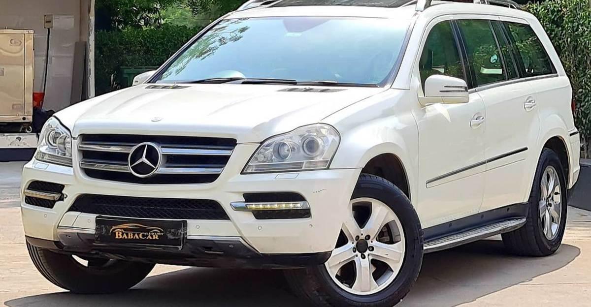 7 seat Mercedes Benz GL350 CDI luxury SUV selling at Kia Seltos prices