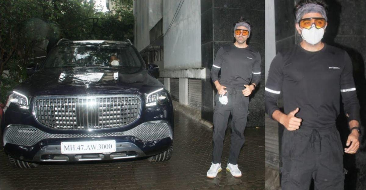 Bollywood actor Ayushmann Khurrana's latest ride is a Maybach GLS600 super luxury SUV