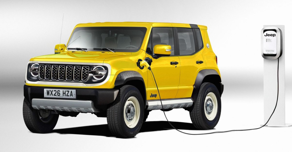 Jeep's sub 4-metre compact SUV to be launched as an electric vehicle