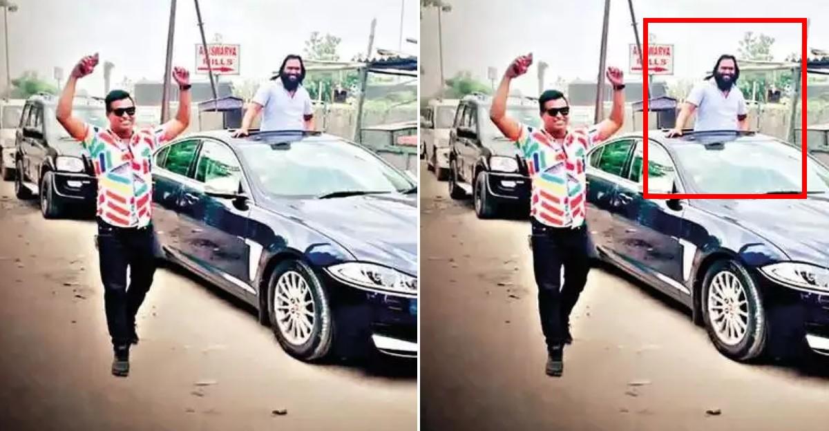 Bootlegger celebrates his jail release in a Jaguar-led luxury car convoy: Arrested again