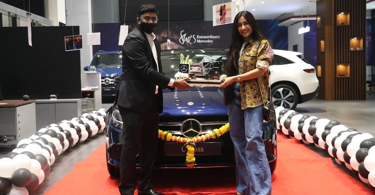 Indian cricketer Yuzvendra Chahal buys a luxurious Mercedes-Benz C-Class