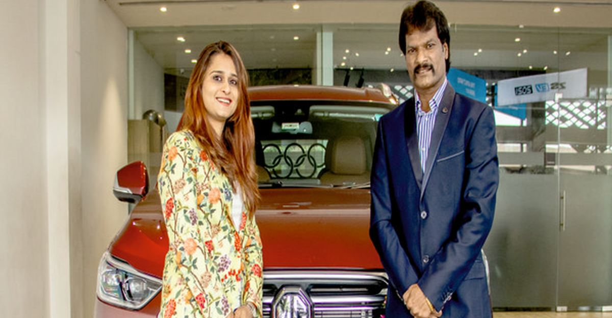 Indian hockey great Dhanraj Pillay gifts himself a MG Gloster on his Birthday