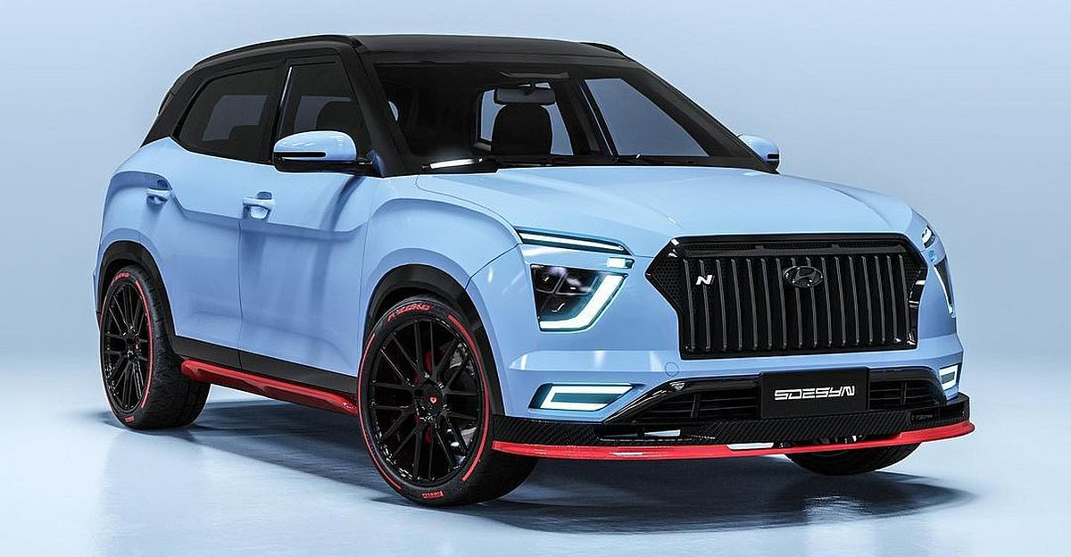 High-performance Hyundai Creta N: What It'll Look Like