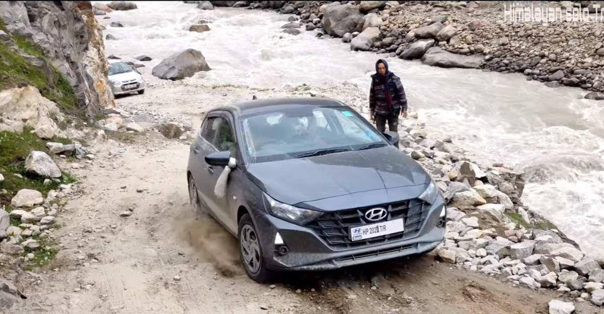 New Hyundai i20 tackles Himalayan water crossings and off road terrain like a BOSS [Video]