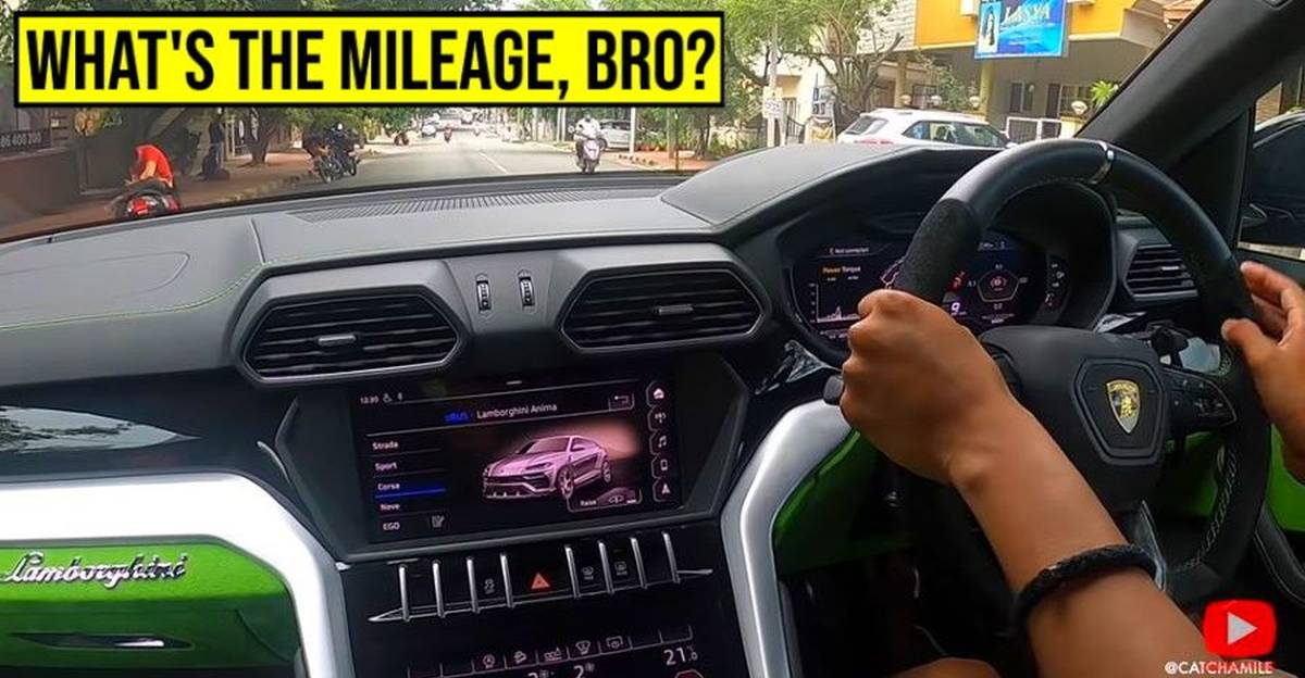 Lamborghini Urus Super SUV gets its mileage tested on Indian roads