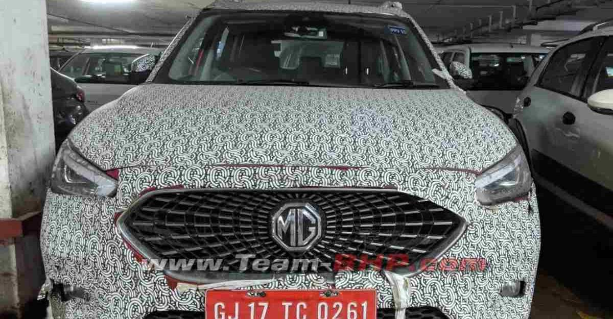 MG Astor (Creta-rival) is the petrol version of ZS EV; Cabin revealed in spy images