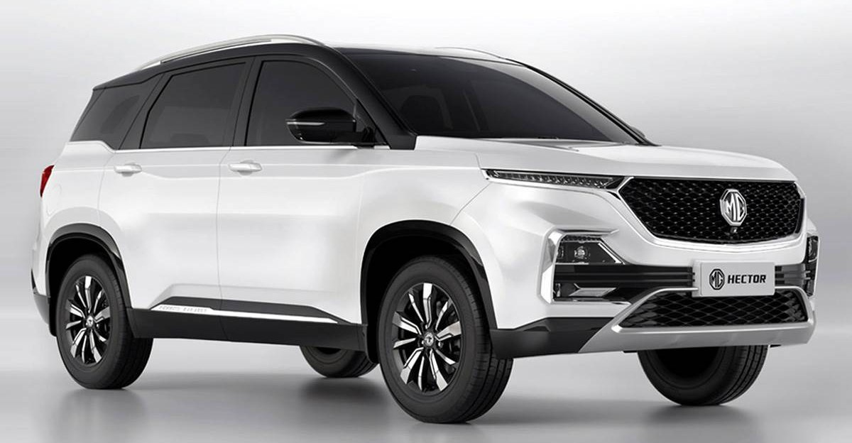 MG Hector Petrol Hybrid 50,000 km service costs just under Rs. 5,500
