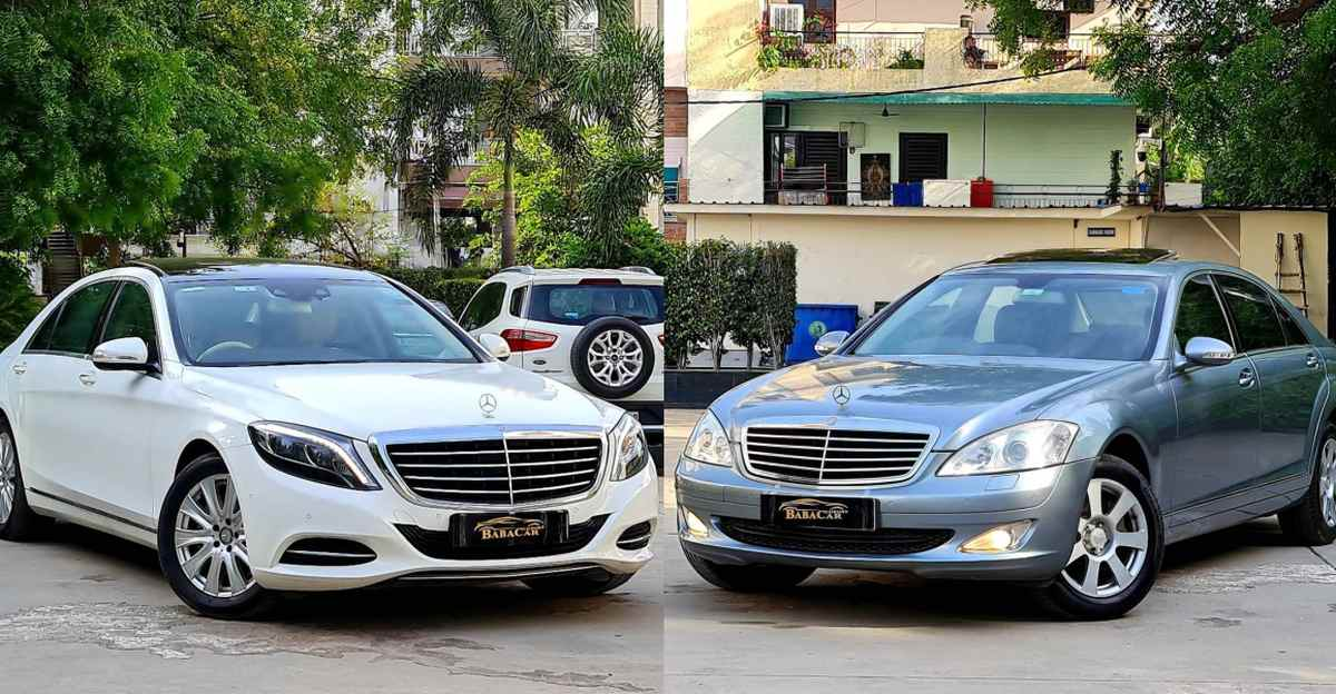 Well maintained used Mercedes-Benz S-Class luxury sedans starting at Rs 9.95 lakh