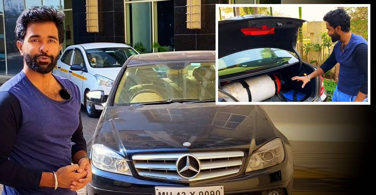 Running a Mercedes Benz C-Class supercharged sedan on CNG: What does it run like