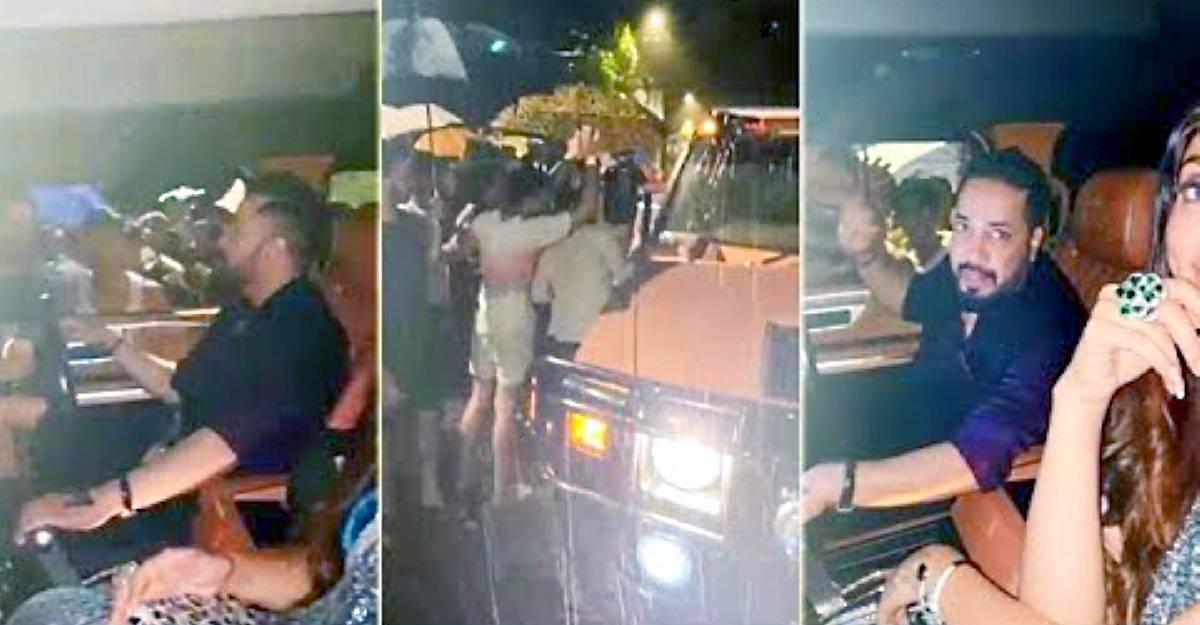 Bollywood singer Mika Singh's Hummer breaks down in Mumbai rain: 200 gather to help [Video]