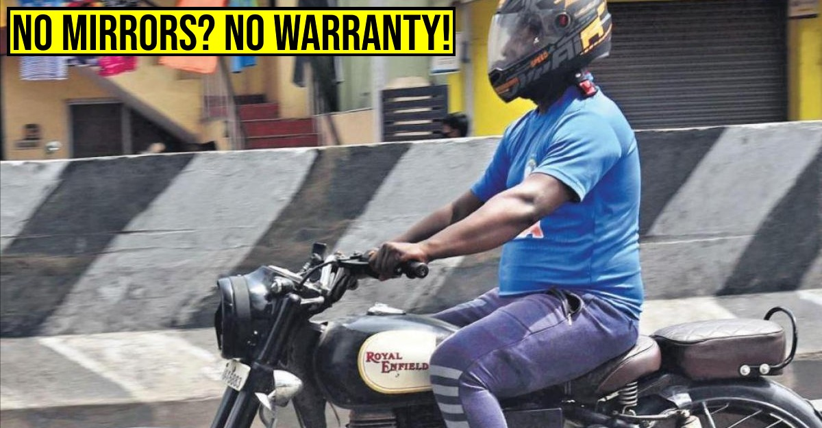 No warranty if mirrors of two-wheelers removed: High Court