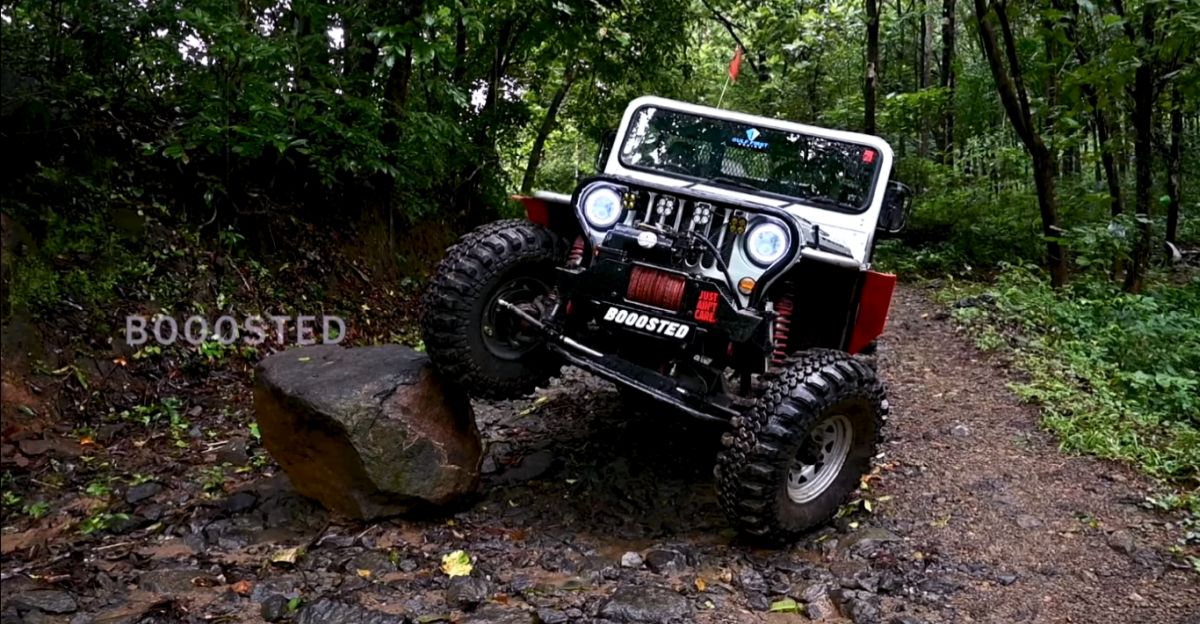 RFC prepped custom-built off roader shows how capable it really is
