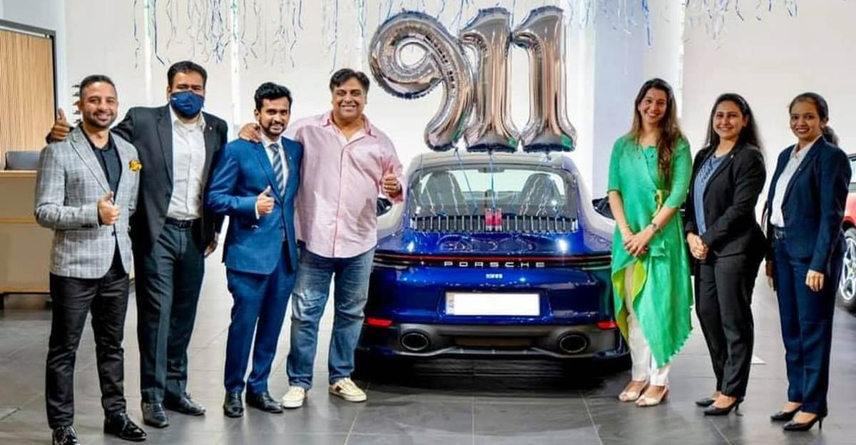 Bollywood actor & car enthusiast Ram Kapoor buys a Porsche 911 Carrera S worth Rs. 1.8 Crores
