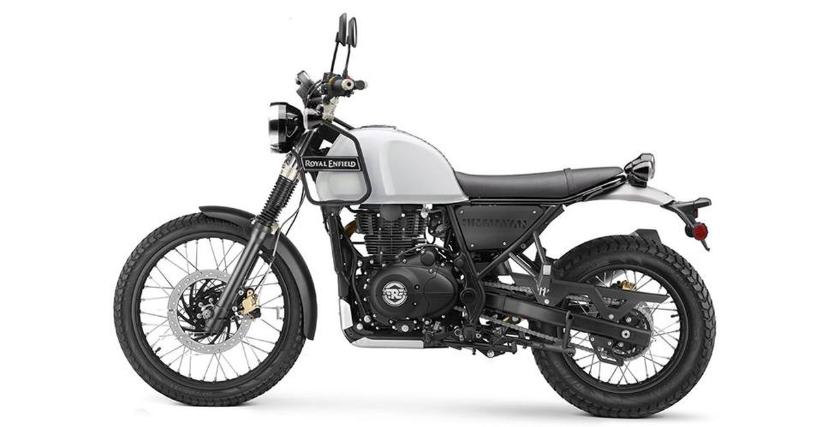 Royal Enfield Scram (Street Focused Himalayan) test mule spotted for the first time