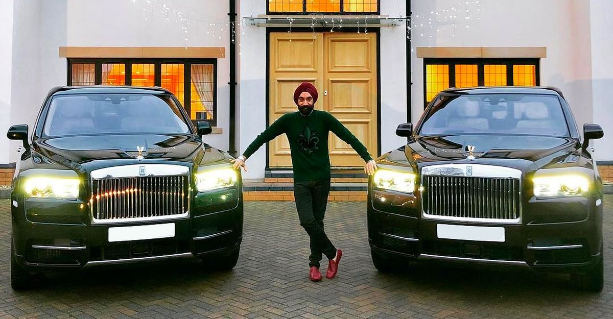 Rolls Royce-OBSESSED billionaire Sardar has a Rolls Royce for every turban colour