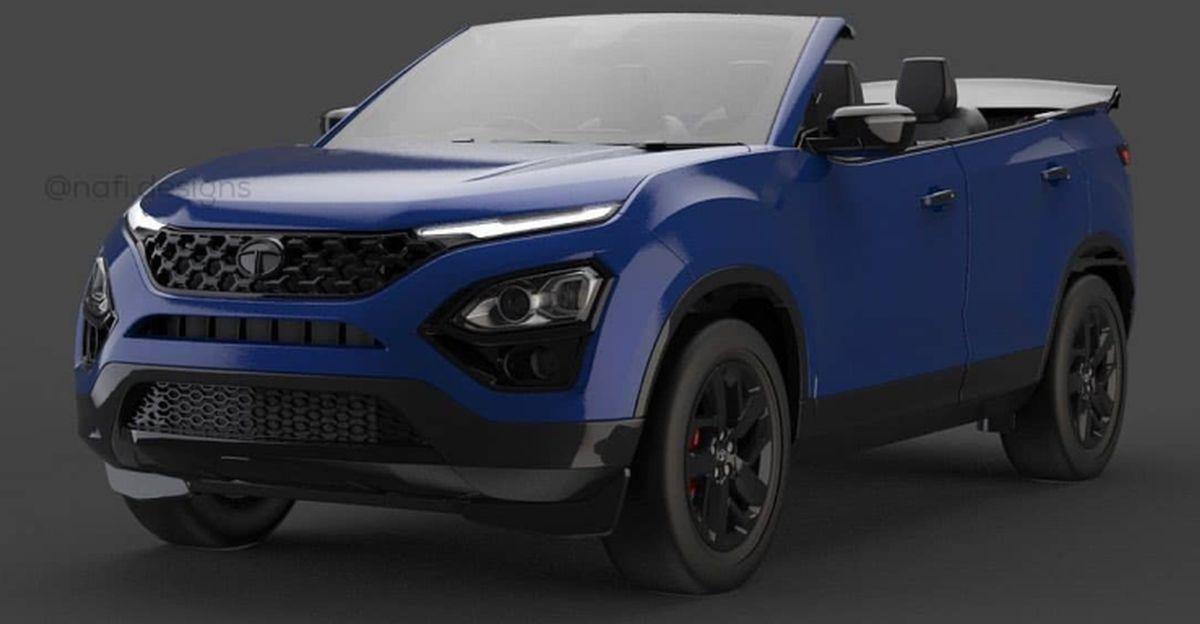 2021 Tata Safari Cabriolet: What it'll look like