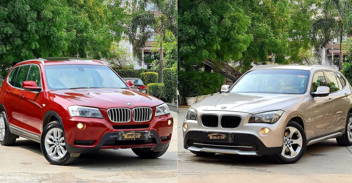 Well maintained, used BMW X1 & X3 luxury SUVs selling for under Rs 10 lakh