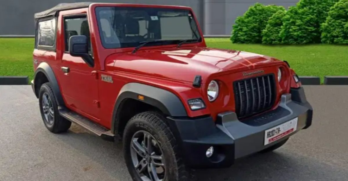 2021 Mahindra Thar 4X4s with less than 5,000 Kms on odometer for sale