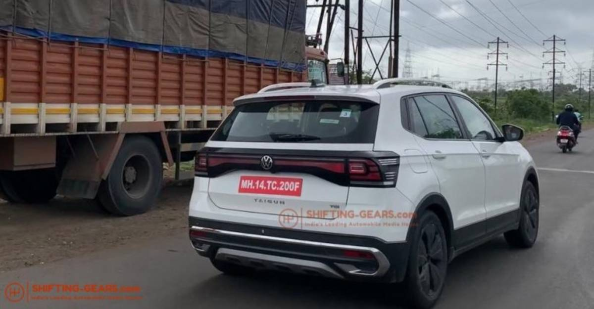 Volkswagen Taigun compact SUV launch ready: New spy shots of the Hyundai Creta rival