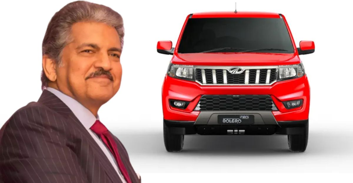 Anand Mahindra adds the just-launched Bolero Neo compact SUV to his garage
