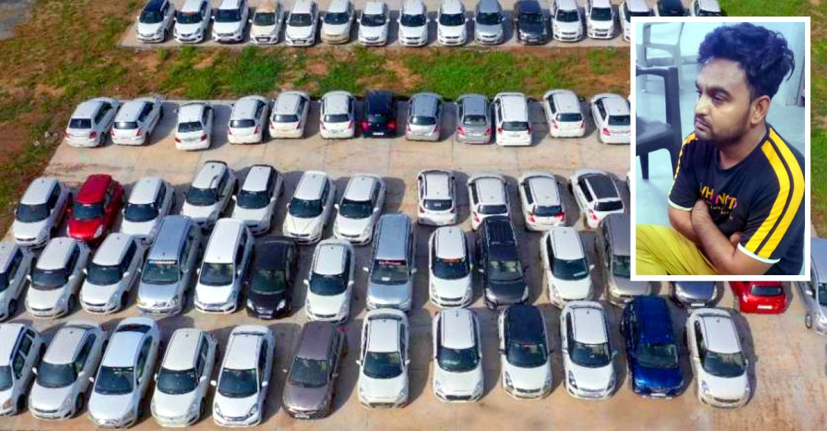 Man rents 264 cars & sells them off: BUSTED & 200 cars worth 4.5 Cr recovered