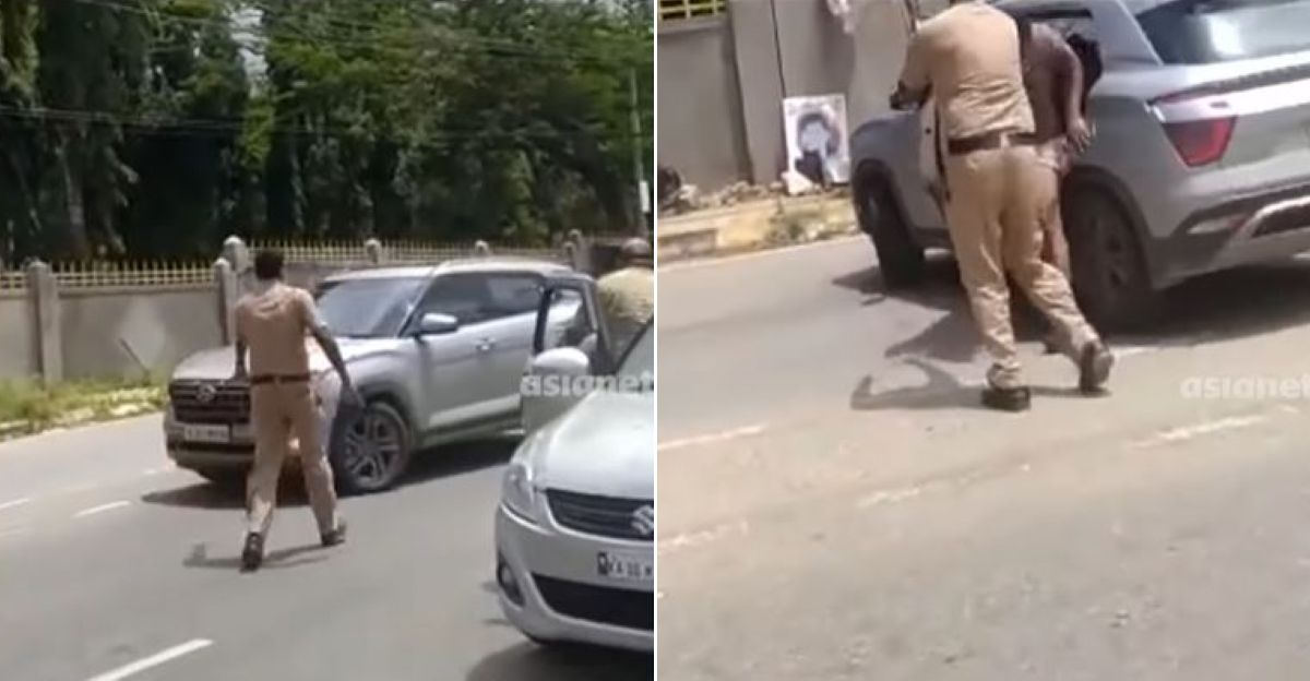 Watch cops save kidnapped businessman by making him jump out of a moving Hyundai Creta
