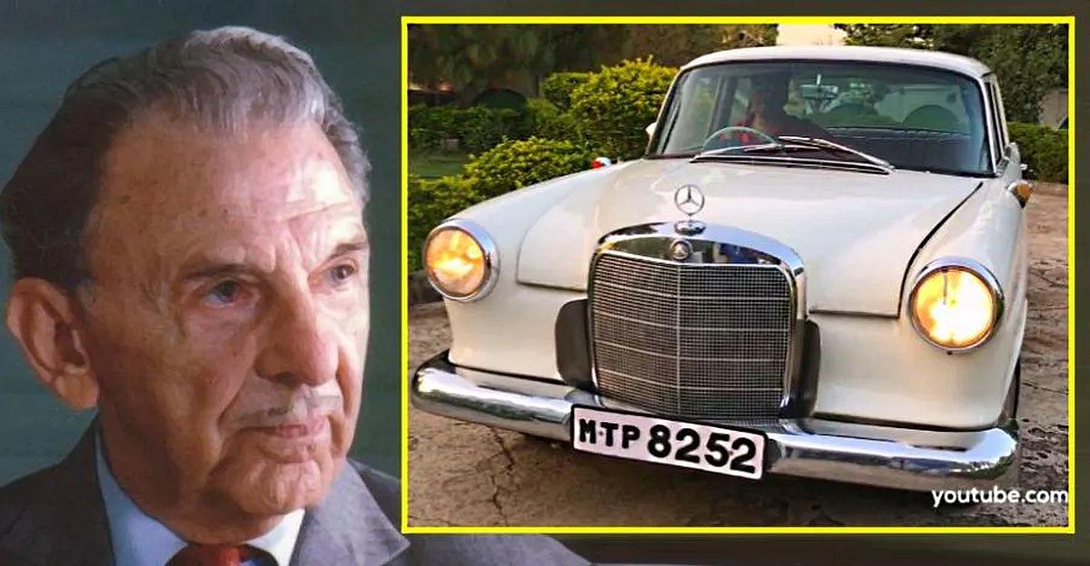 JRD Tata, Dhirubhai Ambani, Ratan Tata, & their previously unseen cars