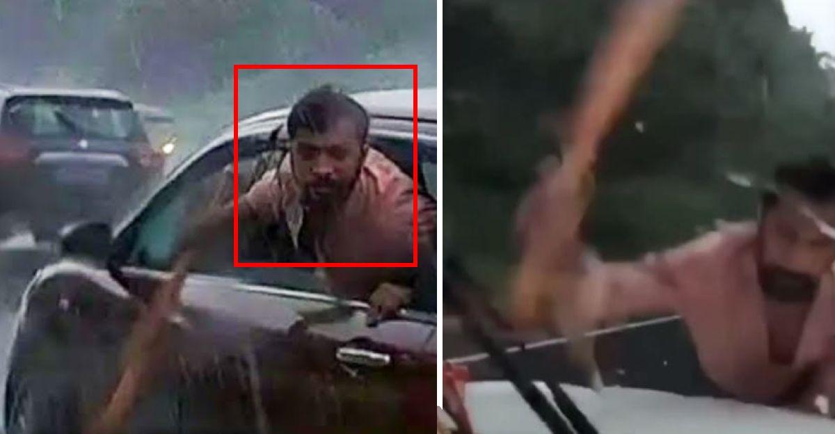 Men in Maruti Ertiga stop Mahindra Scorpio: Break windscreen with baseball bat