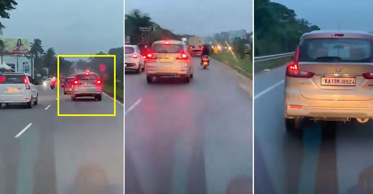 Maruti Suzuki Ertiga driver deliberately blocks ambulance: Arrested [Video]
