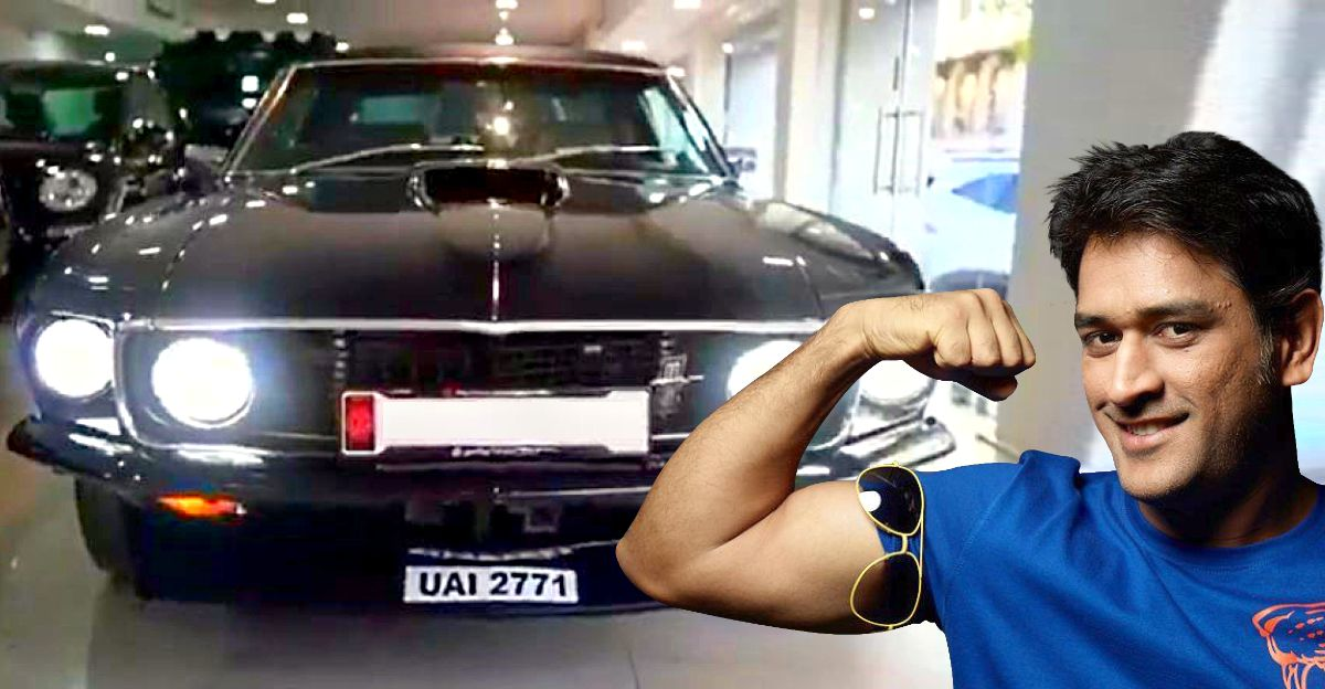MS Dhoni adds 1969 Ford Mustang muscle car to his collection