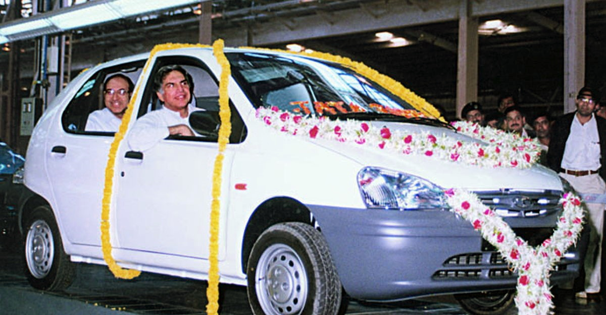 Blast from the past: Watch the first Tata Indica roll out as Ratan Tata watches [Video]
