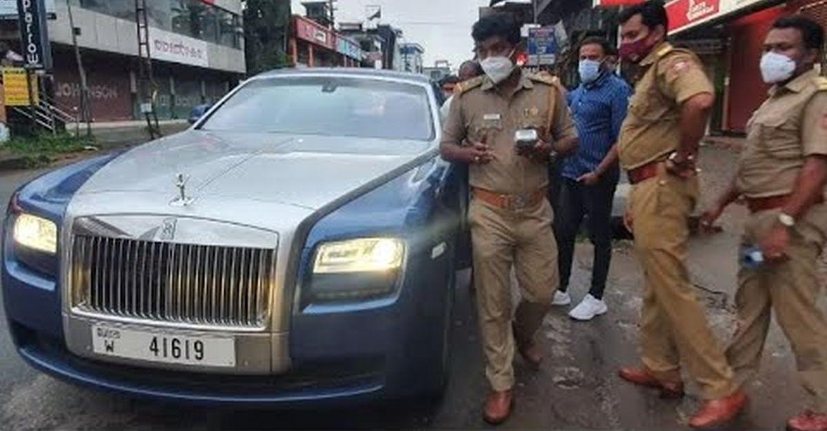 تم تغريم Rolls Royce Ghosts المسجلة في دبي لعدم سداد ديون في الهند [Video]