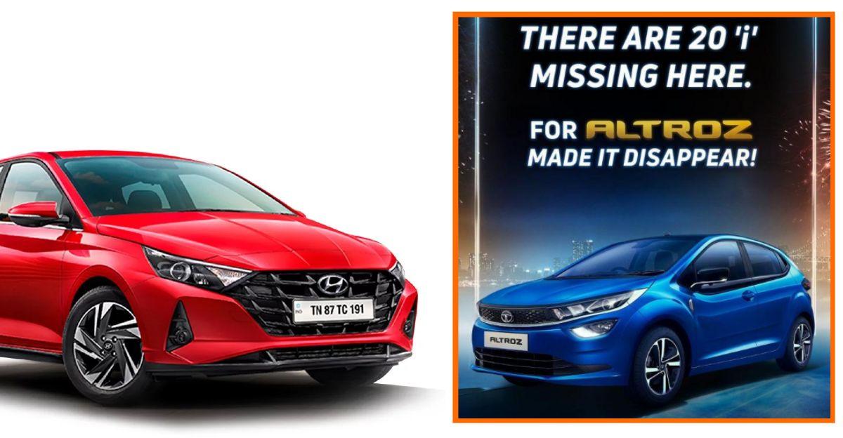 Tata Motors trolls Hyundai as Altroz outsells the i20 premium hatchback