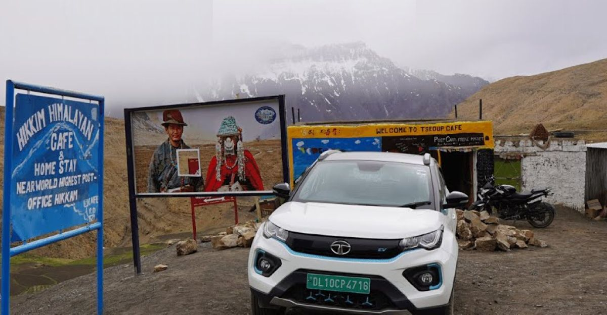 India's first Tata Nexon electric SUV to reach Spiti Valley: This is IT!