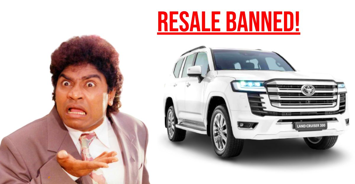 New Toyota LandCruiser resale is BANNED: Here's why
