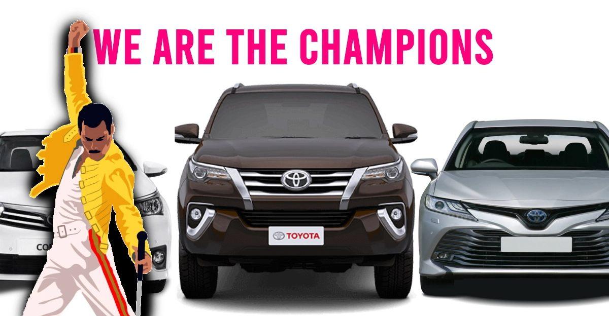 Reliability secrets of Toyota Cars & SUVs revealed