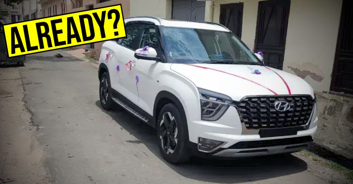 First Hyundai Alcazar SUV to hit the used car market: This is IT!
