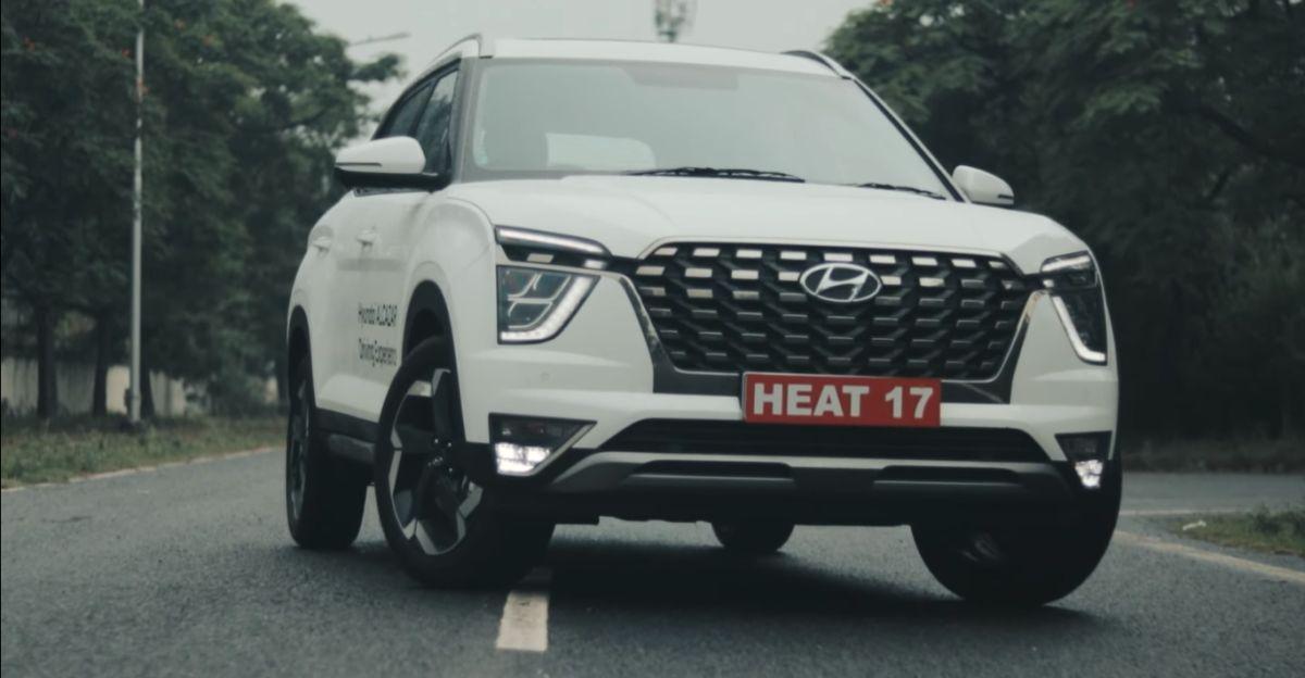 Hyundai Alcazar Diesel SUV: 0-100 kmph run on video
